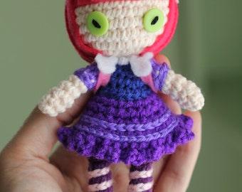 PATTERN: Annie Crochet Amigurumi Doll