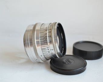 JUPITER-8 2/50 Russian Lens M39 Fed Leica Sony NEX S/N 6823695, 1968 year!