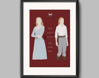 Westworld Poster - Dolores