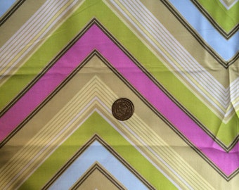 Nursing Cover with POCKETS mulitcolor chevron flowers Great price