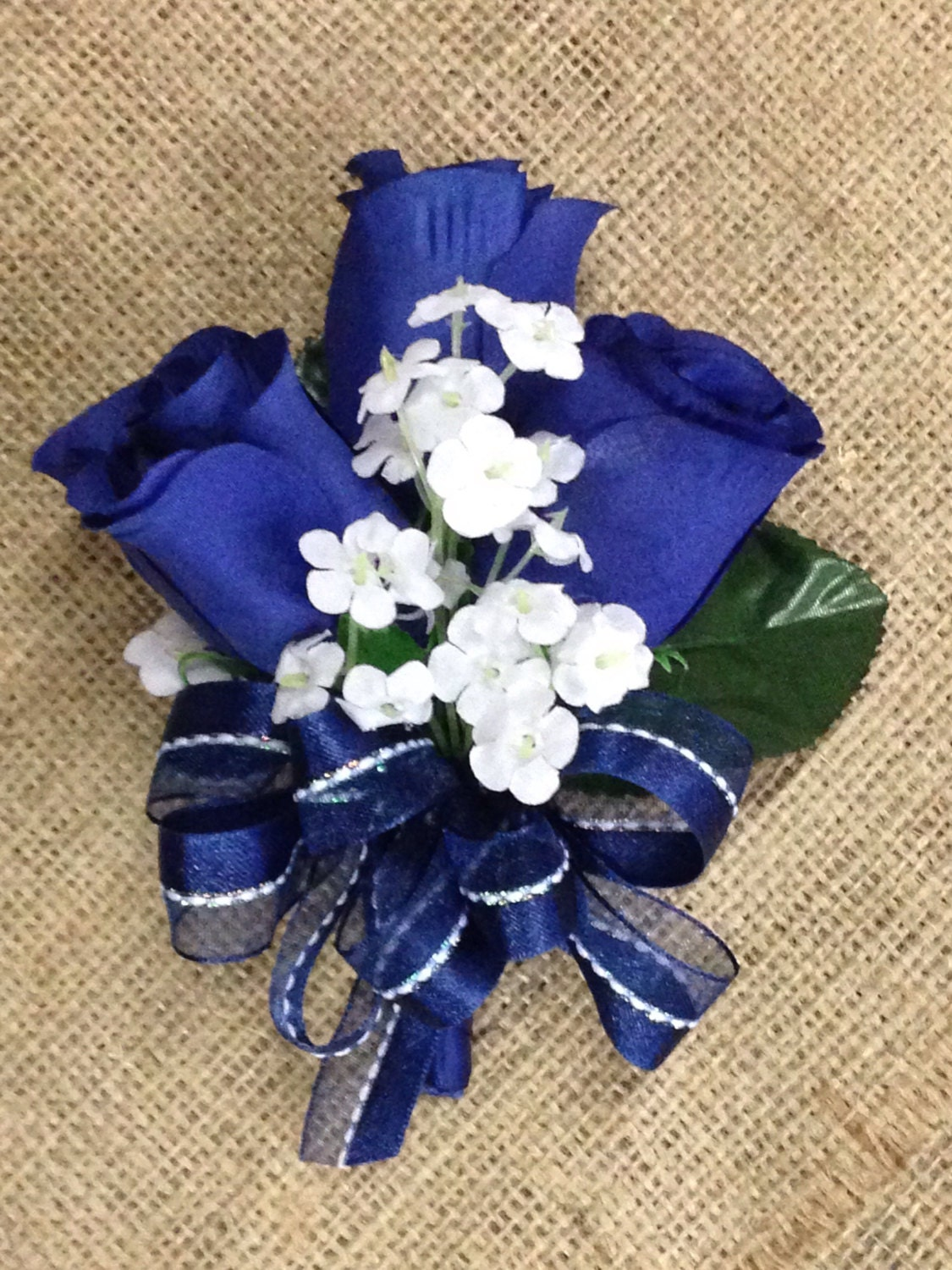 New artificial navy rose corsage blue rose mothers corsage navy new artificial navy rose corsage blue rose mothers corsage navy boutonniere navy bout navy prom corsage izmirmasajfo Gallery