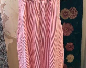 Vintage Magical mystery pinstripe sundress sz small
