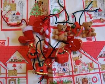 lot of styrofoam cute ornaments