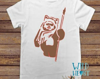 Star Wars Ewok Shirt, Ewok Shirt, Star Wars, Wicket, Ewoks, Return of the Jedi, Disney Park Shirt, Star Wars Shirt, Chewbacca, Storm Trooper