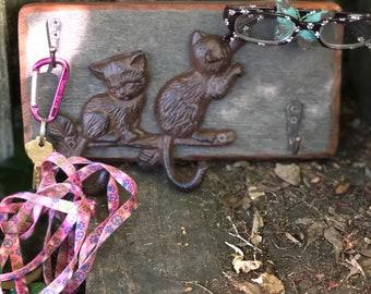 Handmade Key and Leash Holder