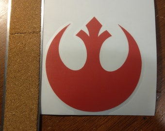 Star Wars Rebel Alliance Decal Any Size Any Colors