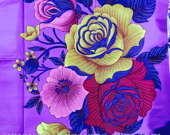 African Fabric Dashiki Angelina Holland Wax,Ankara,Dashiki Clothing,African Clothing, African Fabric Angelina Java- Purple by Yard