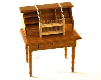 Chemistry Set Necklace - Test Tubes Necklace - Gift for Scientist
