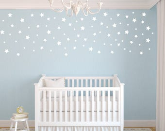 Peel And Stick Decals Stars, Star Wall Decals, Nursery Wall Decals,  Confetti Star