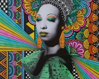 Josephine Baker Art Print
