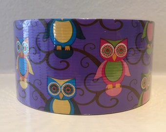 Owl Duct Tape - Owl Duck Tape - Owl Fashion Duct Tape - 10 yards