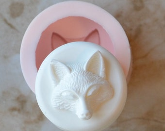 Fox Soap Mold, Silicone, Molds, Candy, Soap Molds, Soap Making, Beach, Chocolate, Molds, SM164