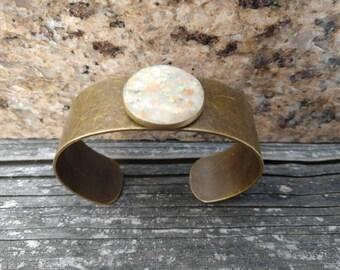 Dried Flower Memory Jewelry Cuff Bracelet Funeral Flowers Memorial Wedding Bridal Keepsake Sentimental Gift
