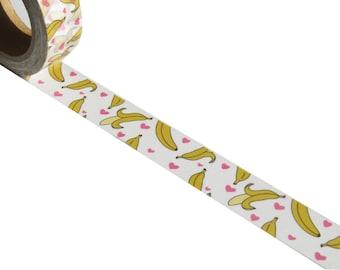 Cute Bananas Washi Masking Deco Tape