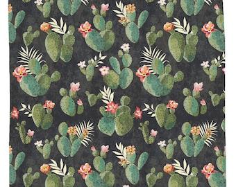 Cactus Shower Curtain, Western Bathroom Decor, Boho Shower Curtain, Floral  Shower Decor,