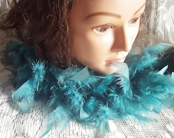 Antique Boa Feathers Reuse Repurpose Supplies Hat Making Jewelry