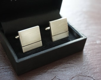 cufflinks, wedding cufflinks, custom cufflinks, cuff links, father of the bride, mens cufflinks, groom cufflinks, wedding gift, silver gift