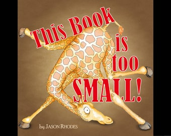 This Book is too Small! - Hardcover Children's Book