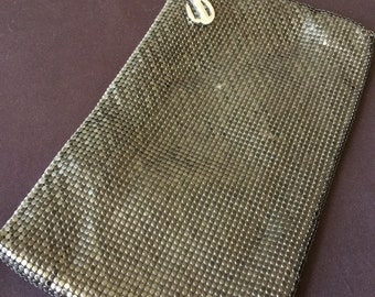 Vintage Whiting and Davis Mesh Purse Bag Clutch