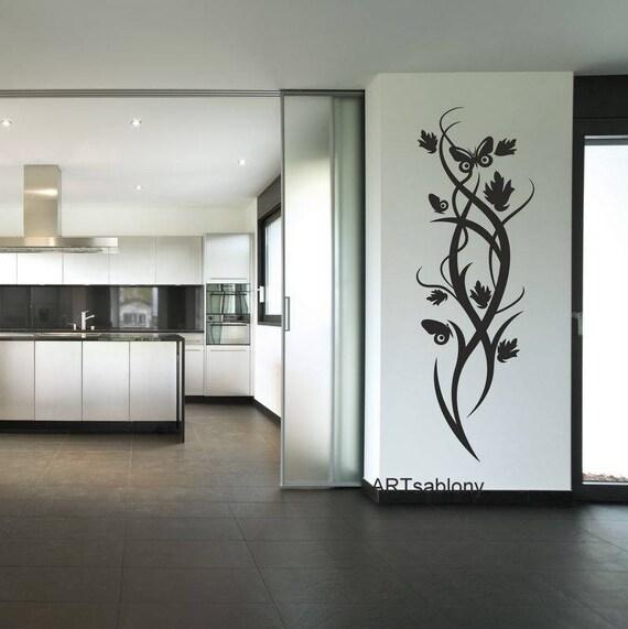sagoma per disegnare ornamento con farfalle 3496x. Black Bedroom Furniture Sets. Home Design Ideas