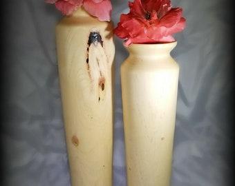Pecan Bud Vases