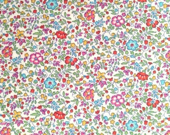 liberty of london 2013 S/S- NEW RELEASE - fat 1/4 - Katie and Millie - pink, red, aqua orange and green