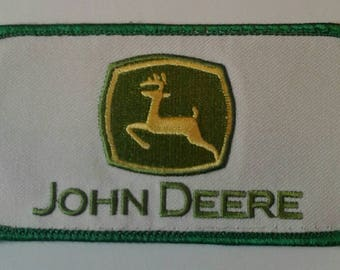 Vintage John Deere Patch - embroidered