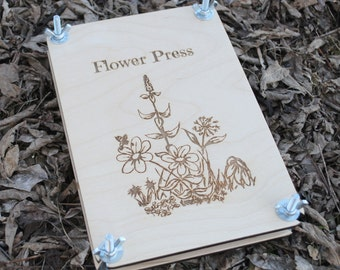 Wildflower Flower Press Homeschool Nature Study Charlotte Mason Herbarium Nature Explorer