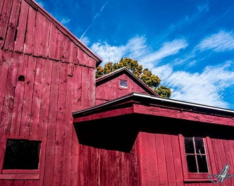 Dad's Barn: 02936. Fine Art Abstract Photography,
