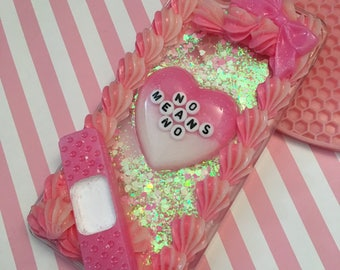 Decoden Pink No Means No Case iPhone 6 6s PLUS