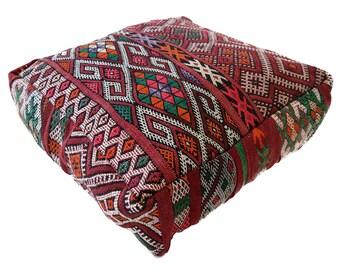 Moroccan Floor Cushion  - 18 - '23.6 x 23.6 x 7.9 inch''