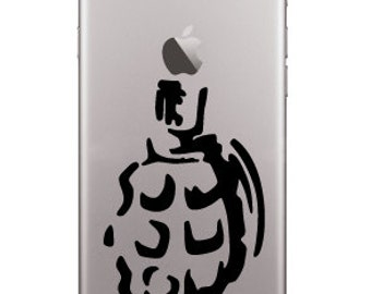Grenade Sticker for Iphone, Cell Phone, Laptop Keyboard 2 Pieces in Price