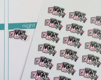 28 Girl's Night Out Stickers Planner Stickers Lady's Night Out Stickers Fits Erin Condren Planner & Other Planners Cute Planner Stickers