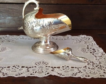 Sugar Scuttle Silverplate