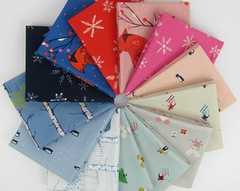 Frost Fat Eighth Bundle by Cotton + Steel for RJR Fabrics (13 Prints)