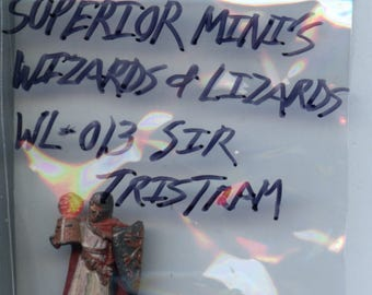 Superior Miniatures Wizards and Lizards WL-013 Sir Tristram Painted Miniature