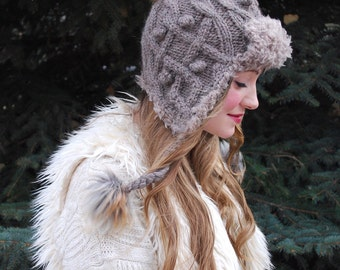 wolfpup hat KNITTING PATTERN