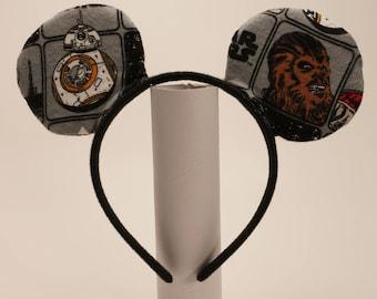 Star Wars Inspired Mickey Ears
