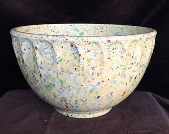 BOONTON WARE Confetti Splatter Ware Mixing bowl 1 1/2 QUARTS