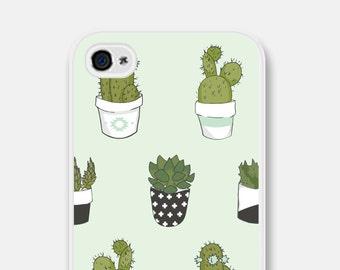 iPhone 6 Plus Case iPhone 6 Case Succulent Cactus iPhone 8 Case iPhone 5s Case Samsung Galaxy S7 Case iPhone 5 Case Mint iPhone 5c Case