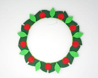 Ring around the Rosie Wreath