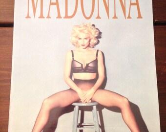 3 OLD MADONNA CALENDARS - 1992, 1992, 1993