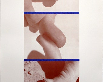 """Conceptual Art. """"The regression of identity codes..."""", 1978. Offset by Dennis OPPENHEIM"""