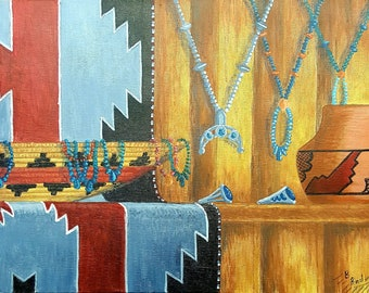 Trading Post Painting
