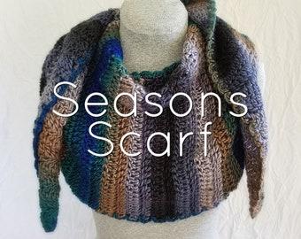 Custom Crochet Shawl/Scarf - Made to Order