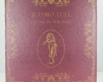 Jethro Tull Living in The Past 1972 Original Vintage Chrysalis Records Vinyl Record LP