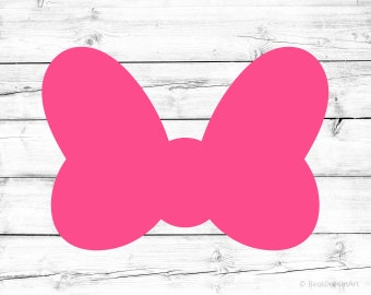 Minnie Mouse Bow Svg Minnie Mouse Svg Minnie Mouse Silhouette Minnie Bow Svg Minnie Bow Cricut Svg Files for Cricut Svg for Silhouette Png