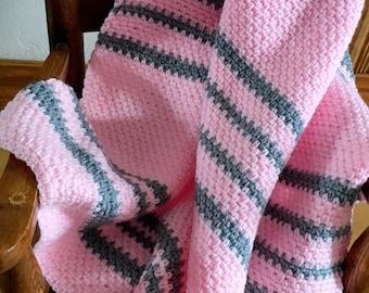 Modern Heirloom Baby Afghan Crochet Pattern