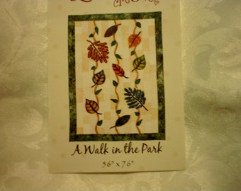 A Walk in the Park Quilt Pattern