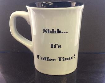 Shhh it's coffee time! Mug